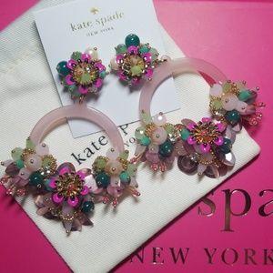 Kate Spade Vibrant Life Hoop Earrings